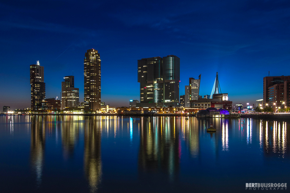 Note to self: more Rotterdam skyline photos! Wilhelminapier Rotterdam