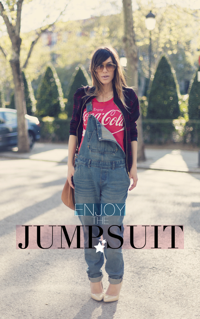 street style barbara crespo enjoy coca cola jumpsuit C&A fashion blogger outfit blog de moda