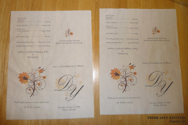 Wedding Handkerchief - Wash