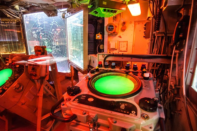 War Room 1 USS Turner Joy (DD-951)
