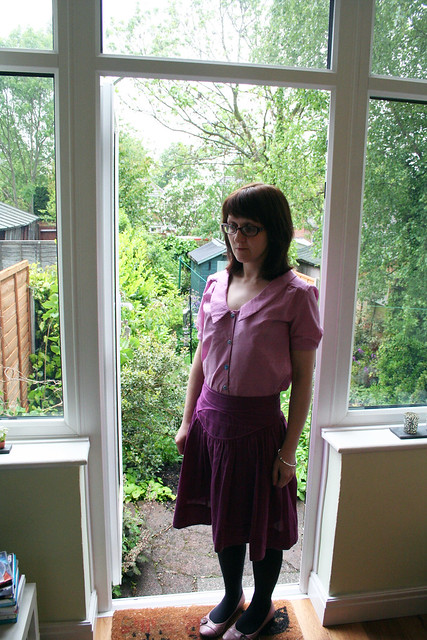 Handmade Tilly & the Buttons Mimi Blouse