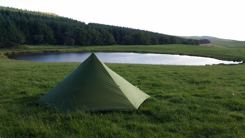Pitched for the night #sh