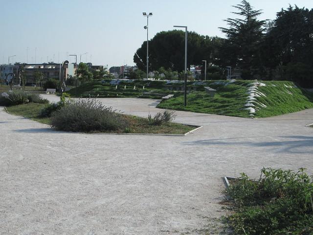 Rutigliano- Pista Ciclabile- intervista Altieri- Il parco di via Aldo Moro