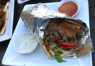 DonerG Kebab Gyro Pita Sandwich
