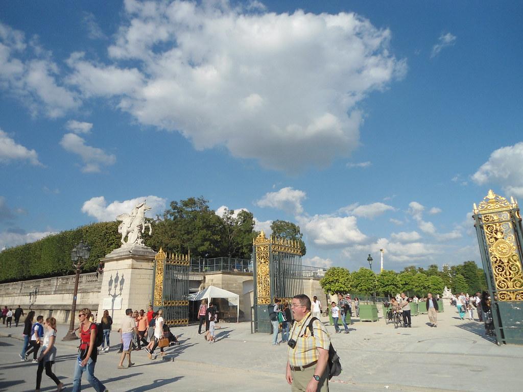 Plaza De La Concordia 14 de julio, plaza de la concordia & jardín de las tullerí