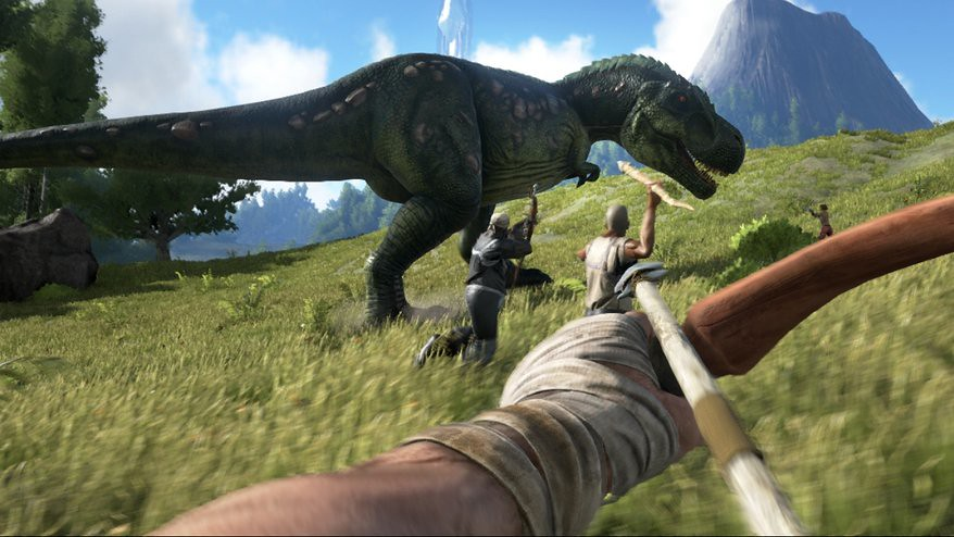 We played Ark: Survival Evolved with co-creator Jesse Rapczak