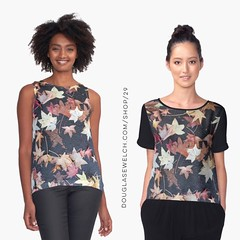 "Add some natural beauty to your wardrobe with these ""Autumn Leaves"" Tops and Much More! Available exclusively from http://ift.tt/2i1uX76 http://ift.tt/2mCvYql (Direct Link) #autumn #leaves #fall #nature #outdoors #products #cards #clothing #arts #crafts #"