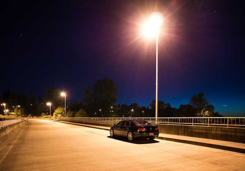 Phaeton Photo Shoot - Weyerhauser Bridge at Night
