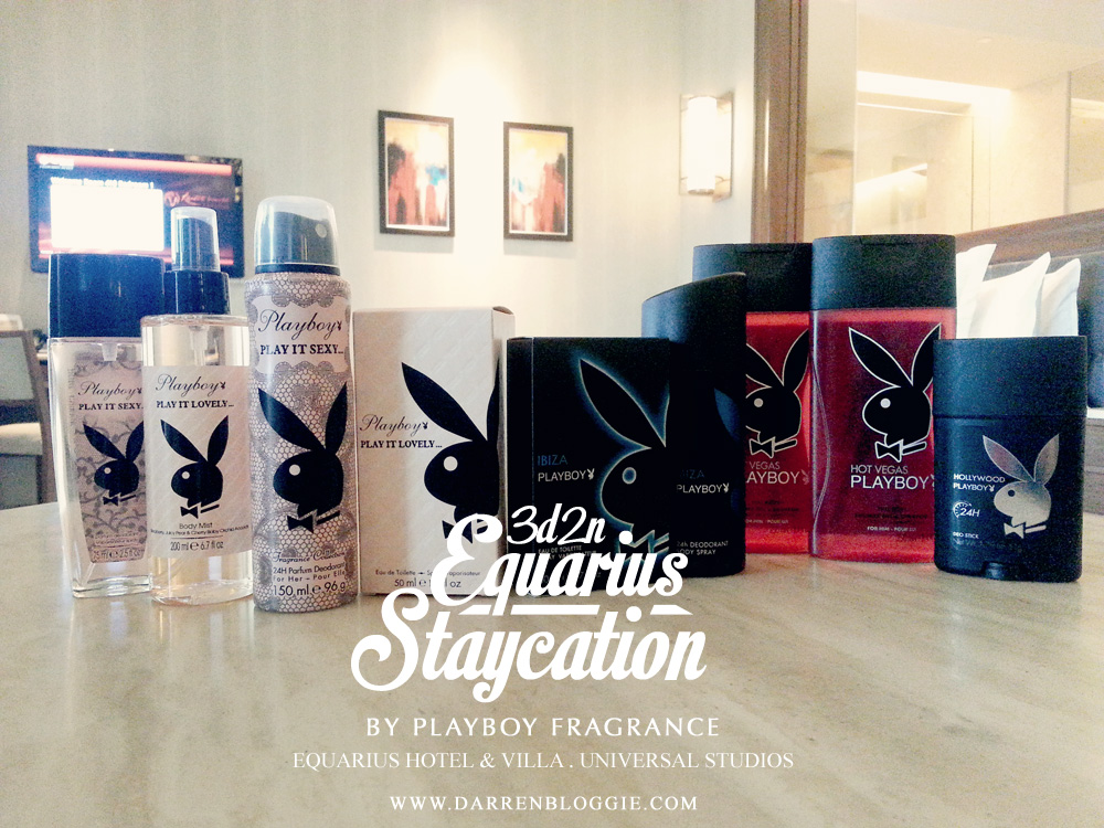 3d2n Equarius Hotel Staycation by Playboy Fragrance