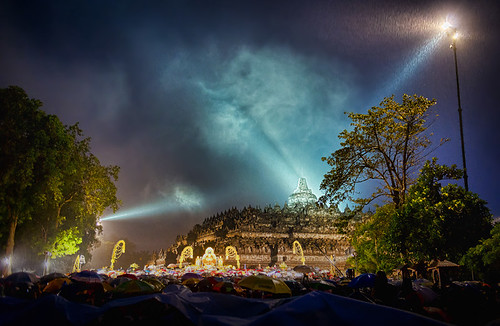 Vesak celebration at Borobudur Temple