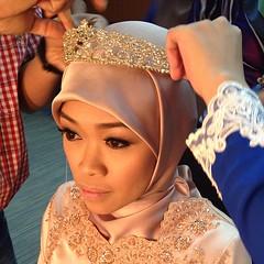 The beautiful bride  @memieeeee #memiereamy