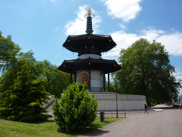 The Battersea Park Peace Pagoda