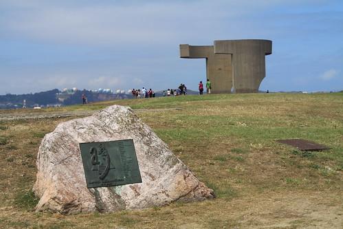 Cerro de Santa Catalina (Gijón) Elogio al horizonte de Chillida