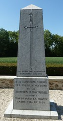 A Third memorial for Battle of Montmirail - Photo of Montolivet