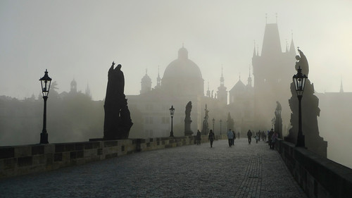 Charles Bridge by CC user romanboed on Flickr