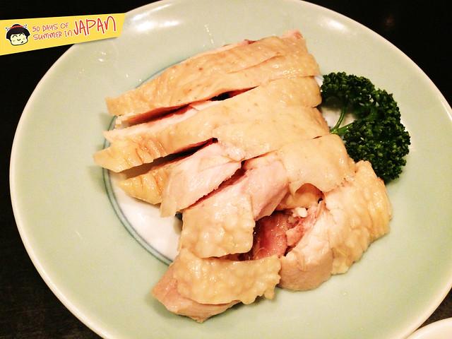 NanXiang - drunken chicken - in Roppongi Hills Tokyo