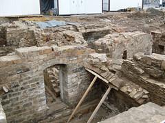 stone wall, wall, rubble, wood, ruins, brick, rock, brickwork,