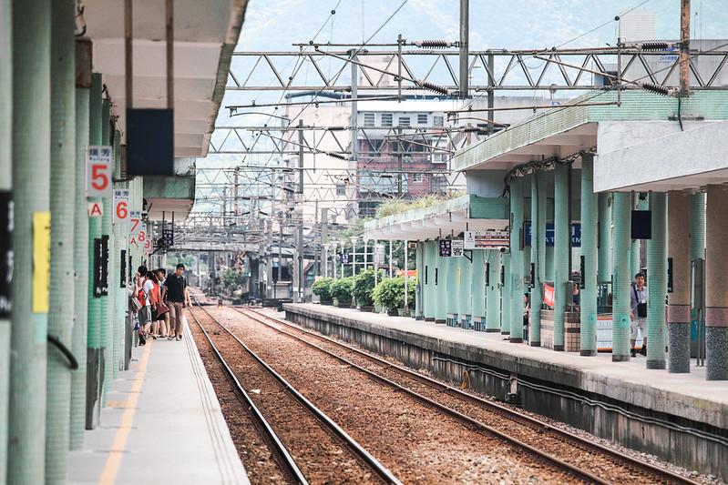 瑞芳車站。