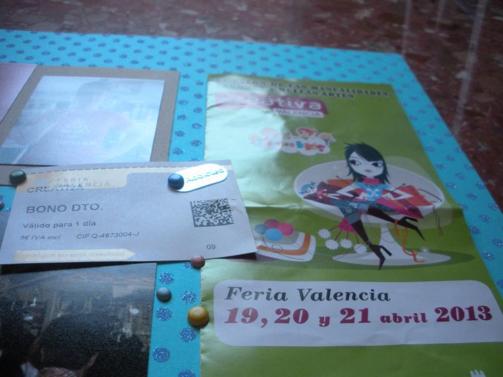 2013, 07. 07. Creativa Valencia 1ª Ed. 19.04.13. - 3