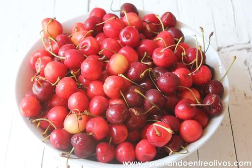 Helado de cerezas www.cocinandoentreolivos (2)