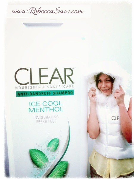 clear shampoo igloo rebecca saw