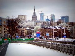 Skyline in Warsaw