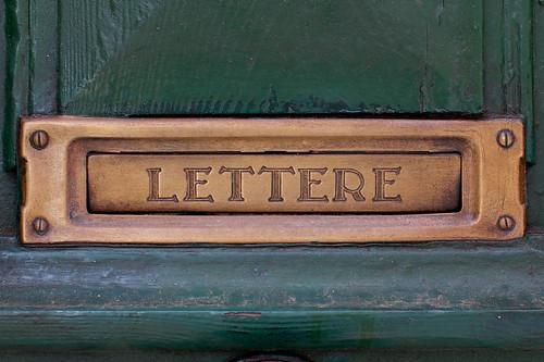 LETTERE by Manuel Buetti