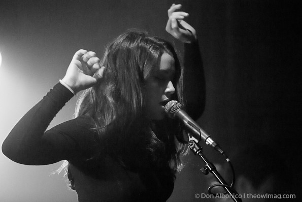 Meg Myers@ the Rickshaw Stop, San Francisco 07-11-2013