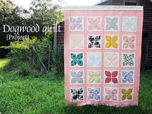 Dogwood quilt project