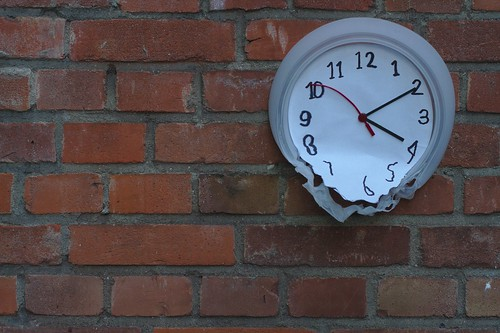 Soft Melting Clock