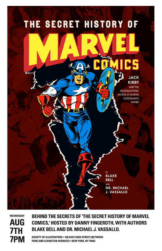 The Secrets Behind The Secret History of Marvel Comics
