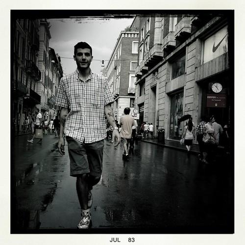 Walking in Rome by Davide Restivo