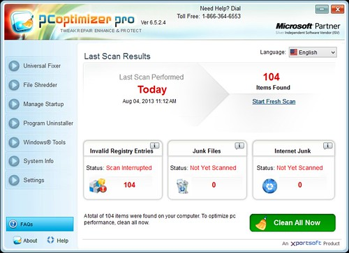 PC Optimizer Pro v6.5.2.4
