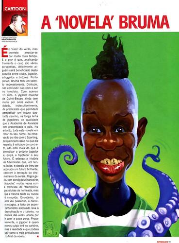 A-Novela-Bruma by caricaturas