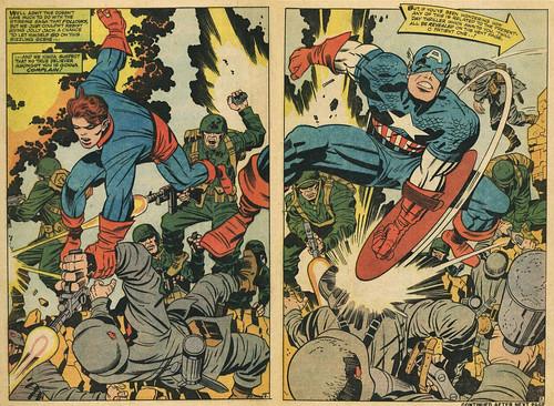 Captain America #105 by Jack Kirby by Derek Langille