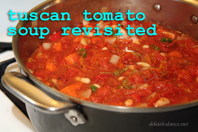 Use It Up: Martha Stewart's Tuscan Tomato Soup Revisited