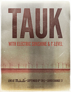 Tauk / C-Level / Electric Sunshine poster