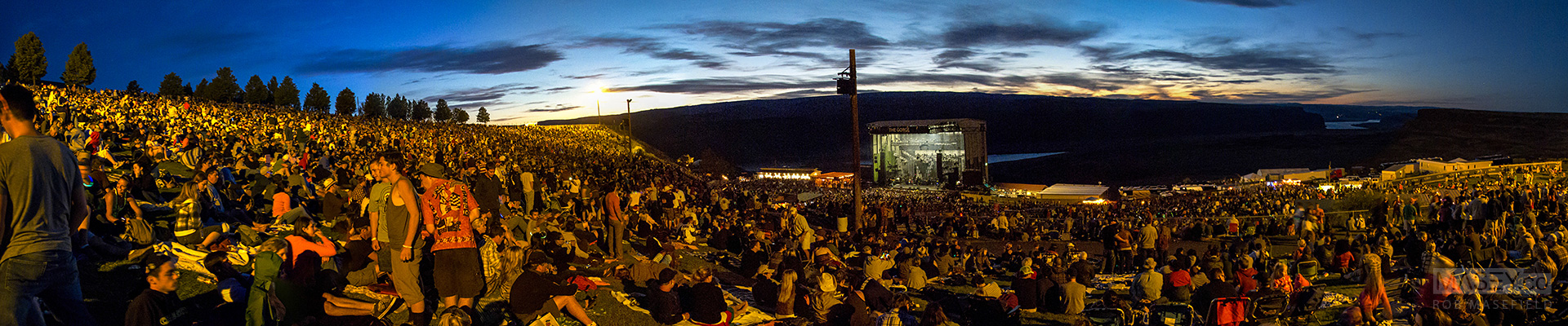DMB's Saturday night show at The Gorge always draws a HUGE crowd.