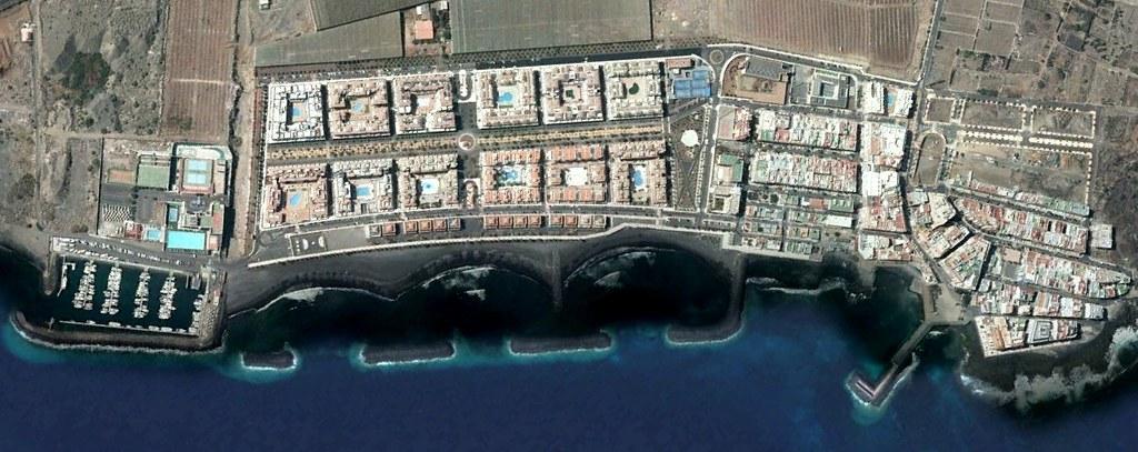 Puertito de Güímar, Santa Cruz de Tenerife, Güímar, diminutivos y signos diacríticos, después, urbanismo, planeamiento, urbano, desastre, urbanístico, construcción, rotondas, carretera