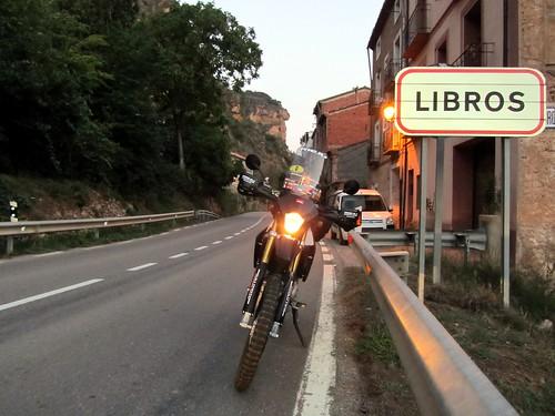 Libros, saliendo de Teruel