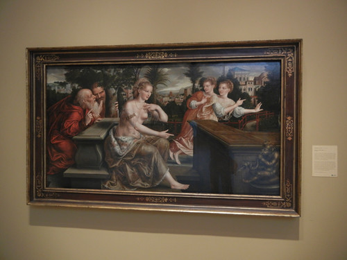 DSCN7680 _ Susanna and the Elders, 1564, Jan Massys (c. 1509-1575), Norton Simon Museum, July 2013