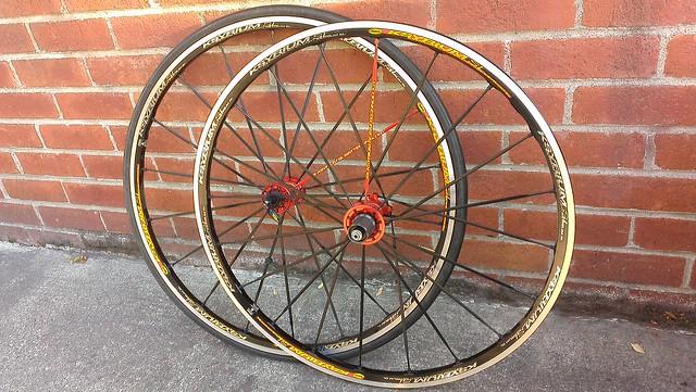 Mavic Ksyrium SL clincher wheelset