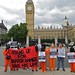 Stand Up for Shaker Aamer - in front of Big Ben