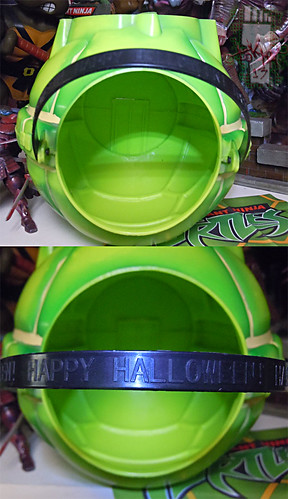 DISGUISE :: TMNT Folding Pumpkin Pail vi (( 2004 ))