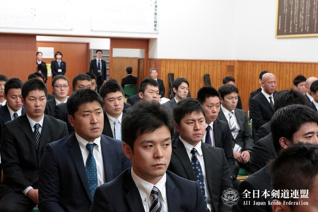 第61回全日本剣道選手権大会_選手打合せ会風景