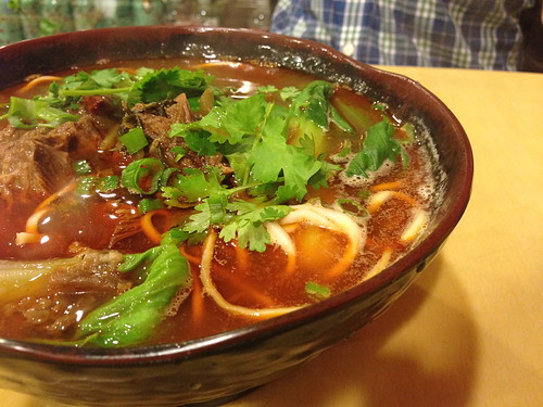 Braised Beef Soup Noodles at Lucky Noodle King
