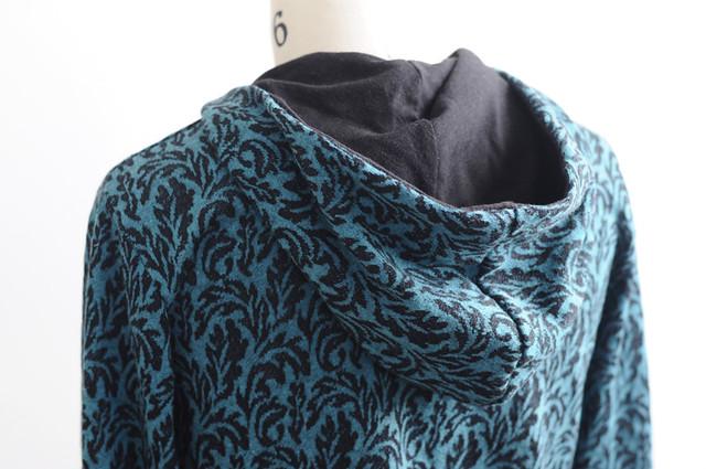 leafy hoodie