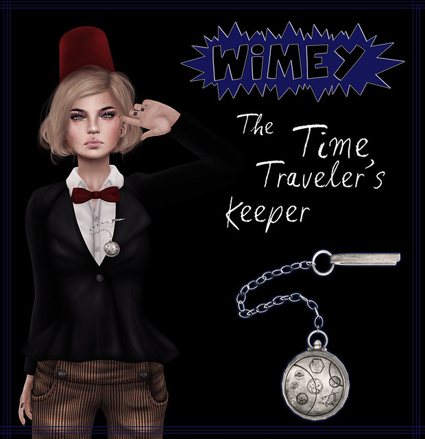 Wimey: The Time Traveler's Keeper