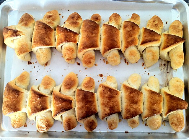 Baked Crescent Rolls