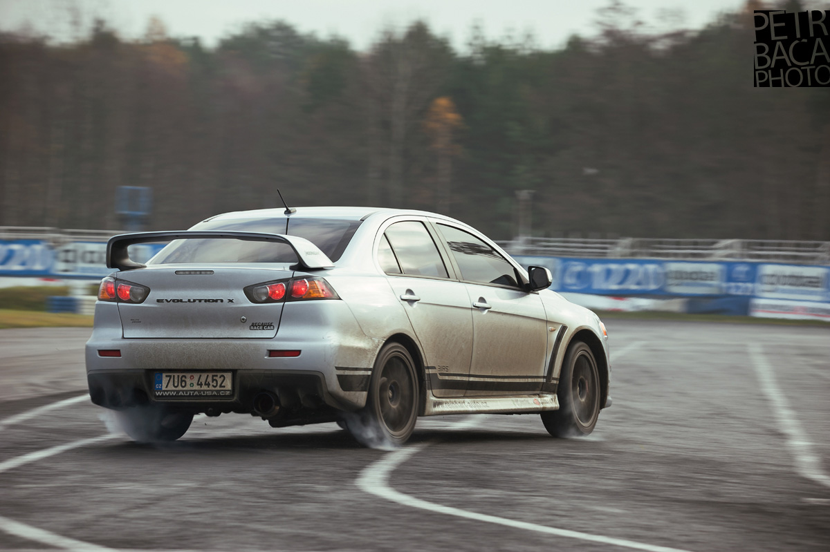 AmaterCup, Ultimate, Trackday, Sosnová, Mitsubishi Lancer EVO X,